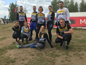 quality partners team taking part in Heroes Race
